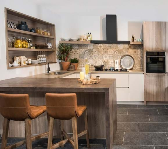 Iets Nieuws U Keuken Met Bar Xpu25 Agneswamu