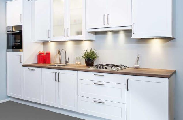 Keuken Witte Kleine : Alle keuken voorbeelden. bekijk de grote collectie keukens db keukens