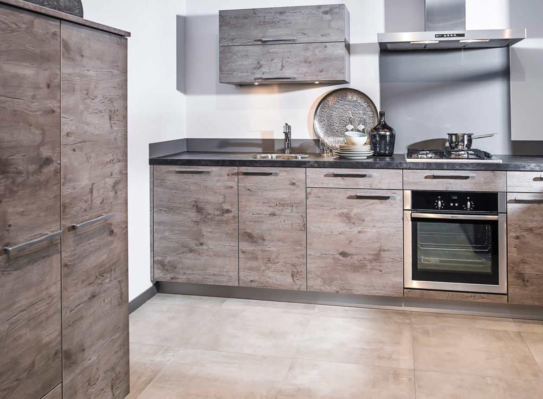 Genoeg Moderne rechte keuken. Past in kleine keuken ruimte! - DB Keukens &SZ92