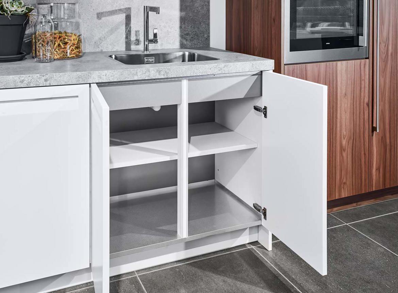 Keuken Wandkast 7 : Rechte keuken met kast. bekijk alle fotos en prijzen online! db