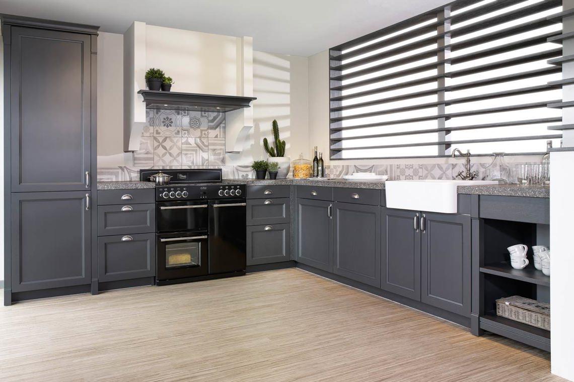Witte Wasbak Keuken : Hoekkeuken kopen? krijg inspiratie door 50 voorbeelden! db keukens