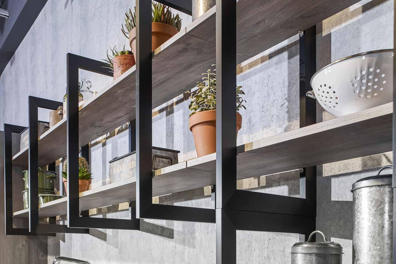 Keuken Industriele Design : Industriële keuken grove robuuste en stoere materialen db keukens