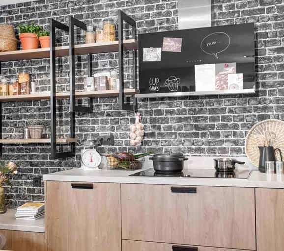 industriële keuken: grove, robuuste en stoere materialen - db keukens