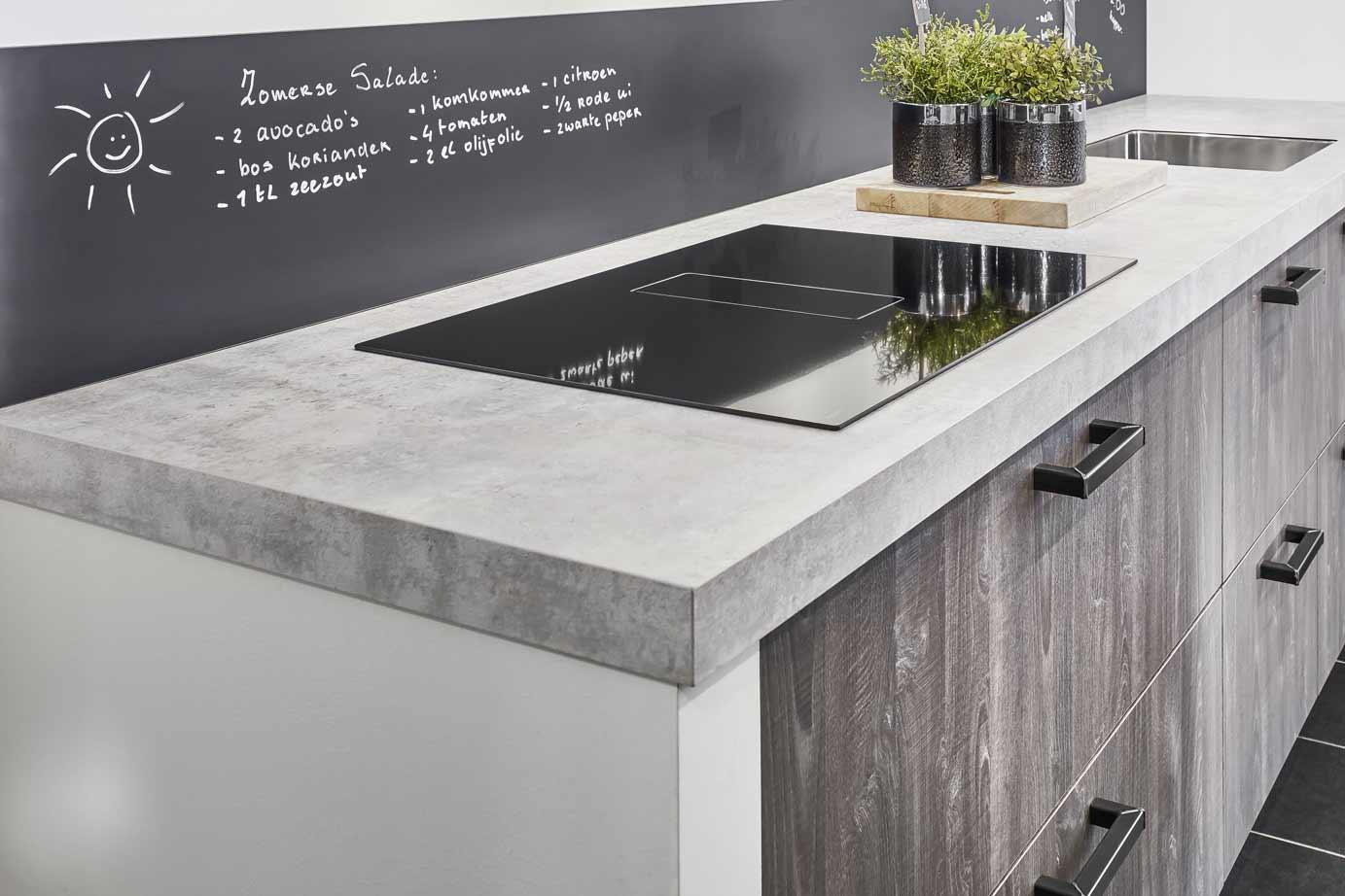 Hout En Beton : Creatieve huizen uitstekend keuken hout en beton keuken hout