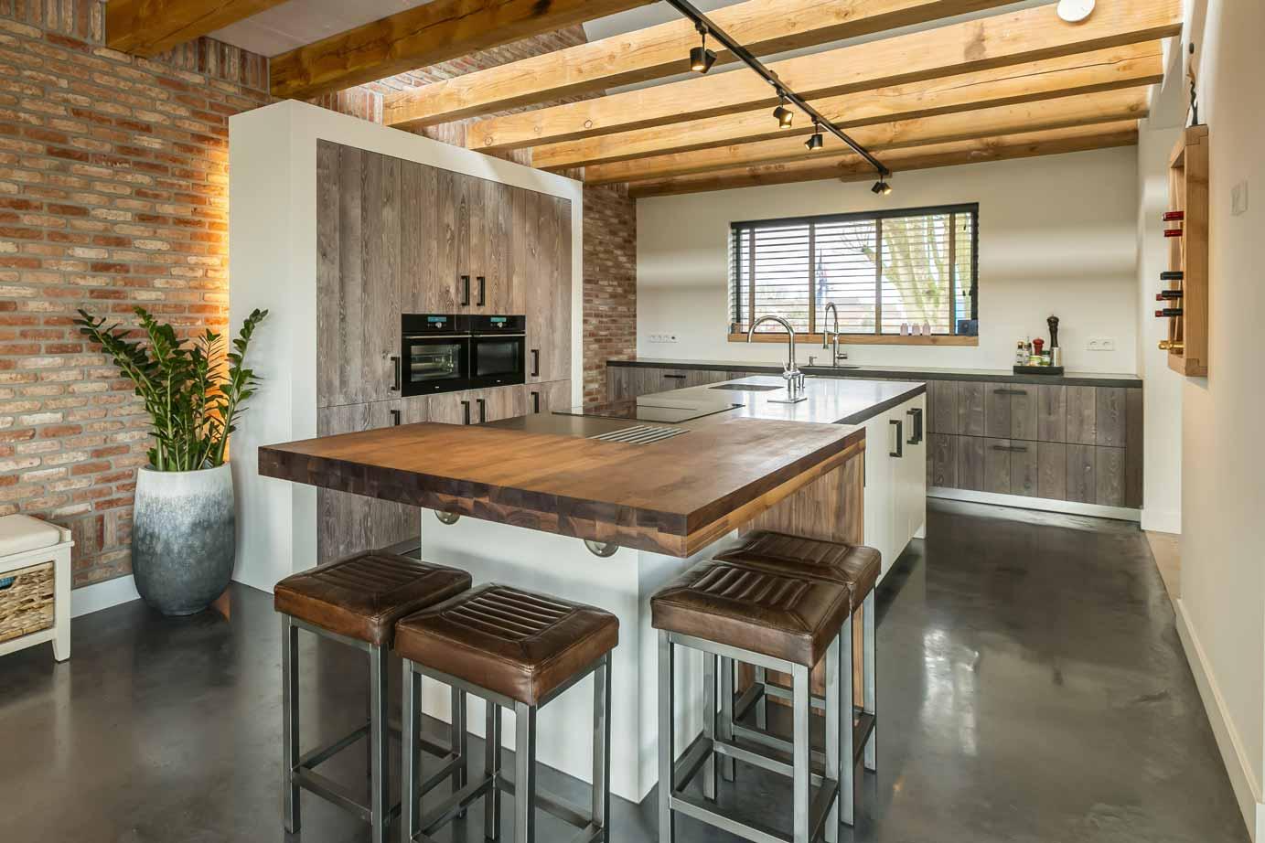 Kookeiland Keuken Houten : Moderne keukens keukens de abdij
