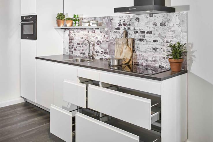 Hedendaags Kleine keuken? Laat je inspireren door voorbeelden DQ-02