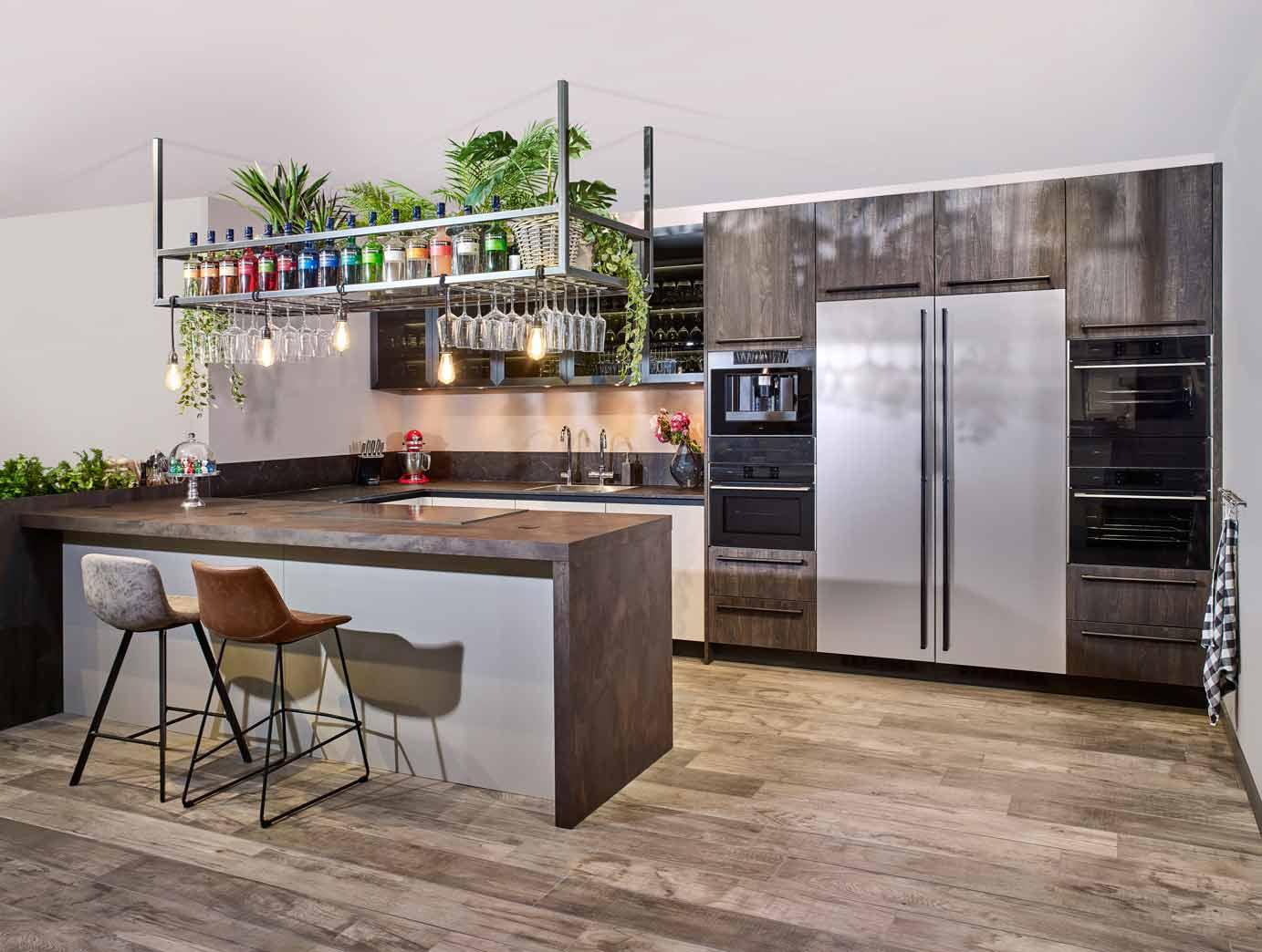 Keuken Bar Schiereiland : Spirit keukens van boekweit keukens in eemnes