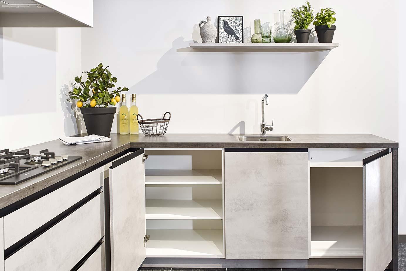 Goedkope moderne keuken hoge kwaliteit scherpe prijs db keukens
