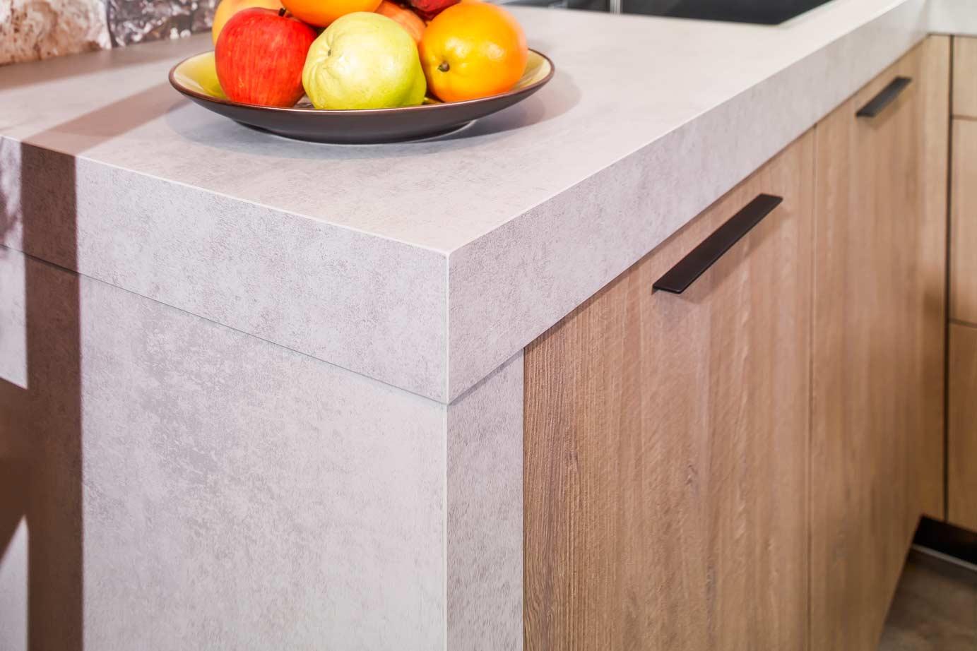 Grey Keuken Houten : Industriële houten keuken bekijk foto s en prijzen db keukens