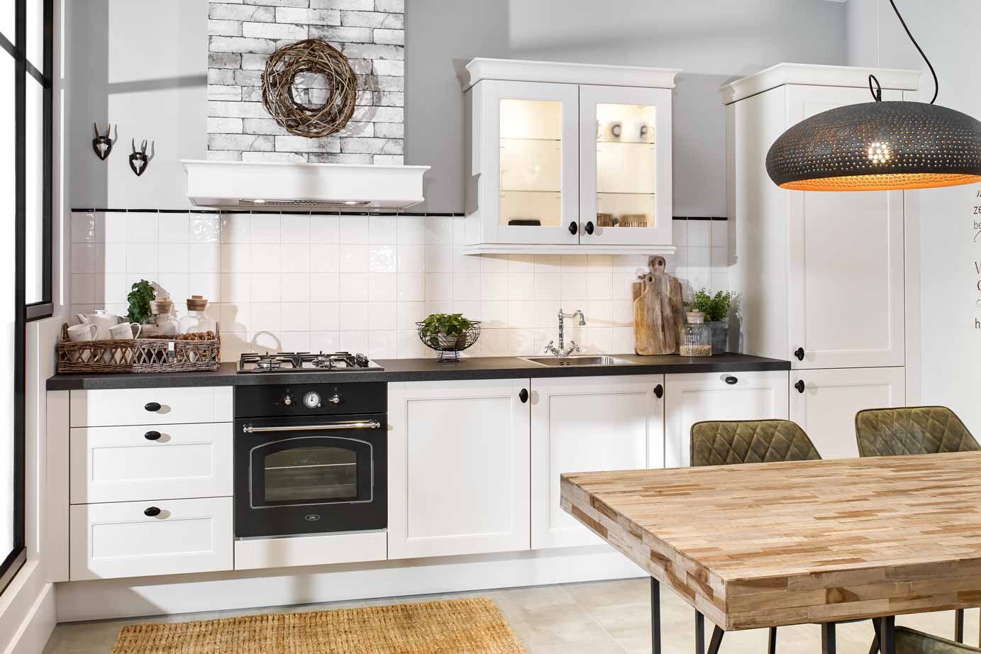 Keuken Handgrepen Landelijk : Landelijke rechte keuken kopen bekijk foto s db keukens