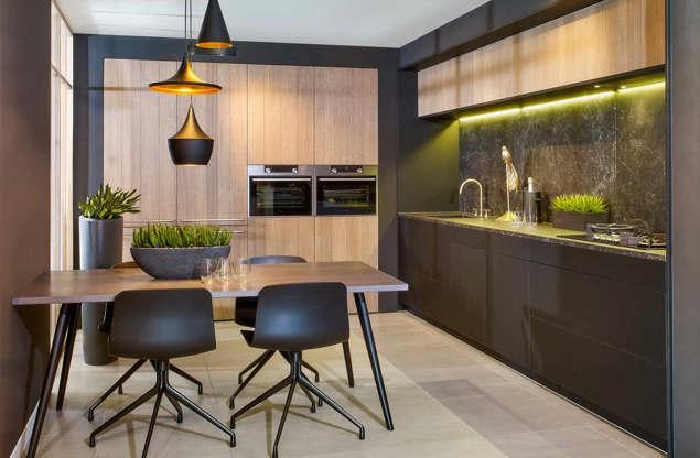 Ultra Moderne Keukens : Zwarte keukens? krijg inspiratie door vele voorbeelden db keukens