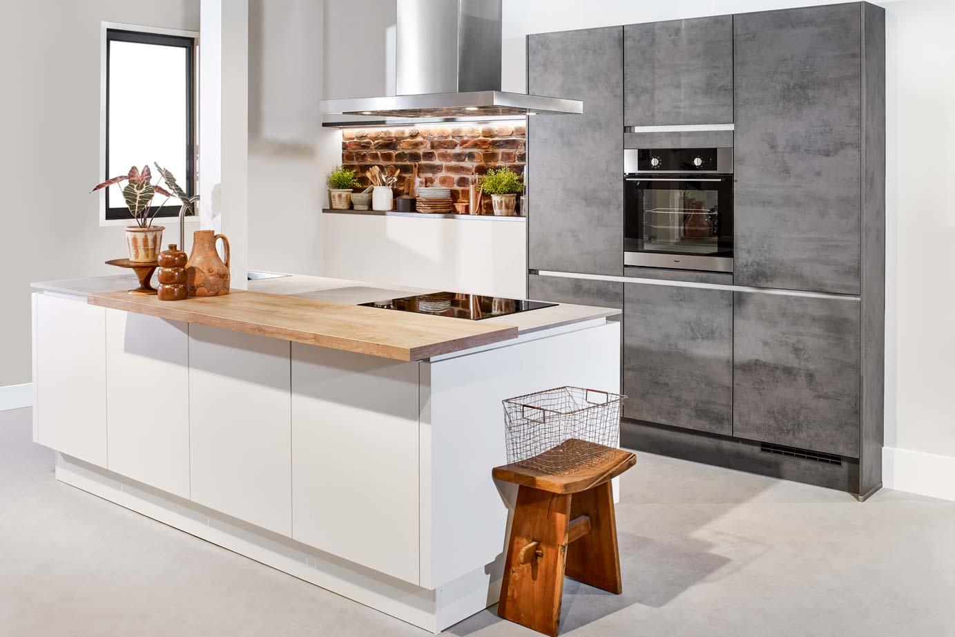 Hoek Keuken Modellen : Moderne keukens incl foto s en prijzen db keukens
