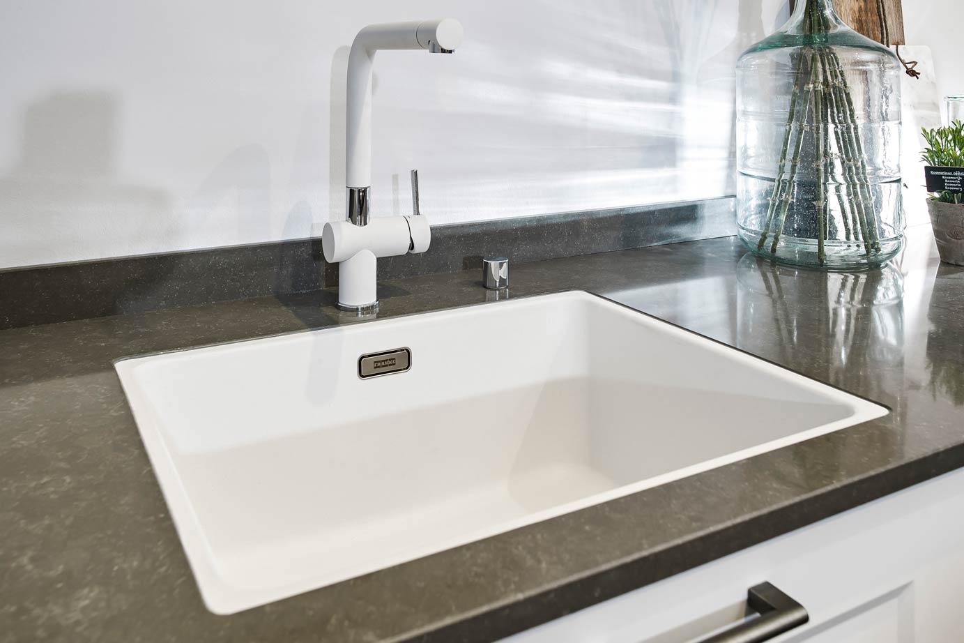 Witte Wasbak Keuken : Afmeting spoelbak tien tips die u moet weten db keukens